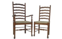 CH03 English Ladder Back Dining Chair