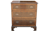 COD12 Burr Walnut Chest