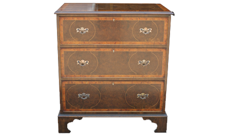 Touchwood UK COD12Burr Walnut Chest