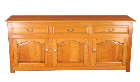 Touchwood UK D13 Three Drawer Three Door Dresser Base