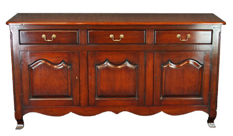 Touchwood UK D17 Three Drawer Three Door French Dresser Base
