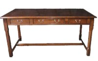 DK01 Leather Top Writing Desk