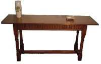 S08 Carved Console Table