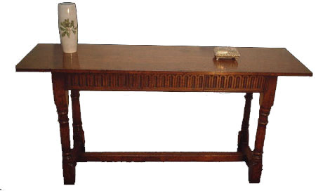 Touchwood UK S08 Carved Console Table
