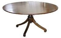 T01 Rollfoot Pedestal Dining Table