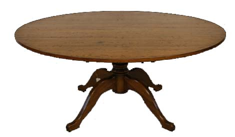 Touchwood UK T03 Pedestal Dining Table