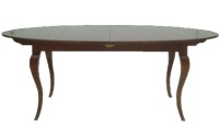 T11 Cabriole Leg Dining Table