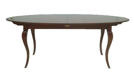 Touchwood UK T11 Cabriole Leg Extending Dining Table
