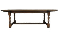 T15 Refectory Extending Dining Table