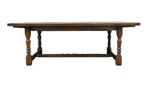 Touchwood UK T15 Refectory Extending Dining Table