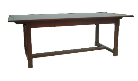 Touchwood UK T16 Chamfered Leg Refectory Dining Table