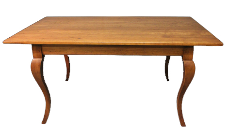 Touchwood UK T18 Cabriole Leg Farmhouse Dining Table