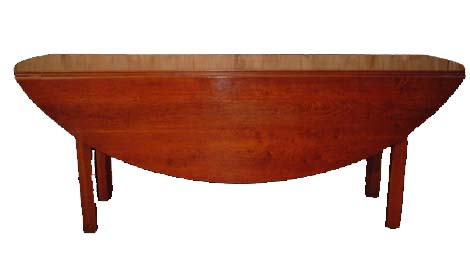 Touchwood UK T24 Chip Leg Drop Leaf Dining Table