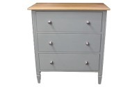 WCOD01 Three Drawer Chest of Drawers