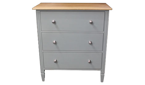 Touchwood UK WCOD01 Three Drawer Chest of Drawers