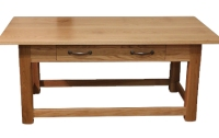 WCT02 Chamfered Leg One Drawer Coffee Table