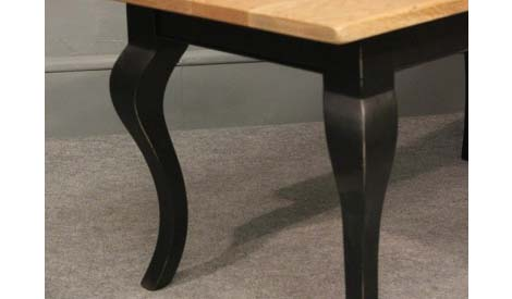 WCT03 cabriole leg coffee table