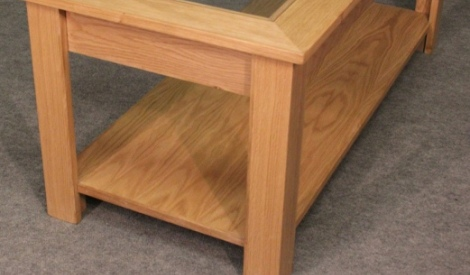 WCT08 kirton glass top coffee table