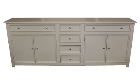 Touchwood UK WD02 Painted Dresser Base
